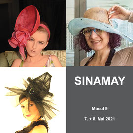 9. Modul - SINAMAY - Christine Rohr Academy of Millinery and Textile Arts