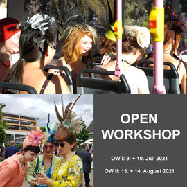 OPEN WORKSHOP - Christine Rohr Academy of Millinery and Textile Arts