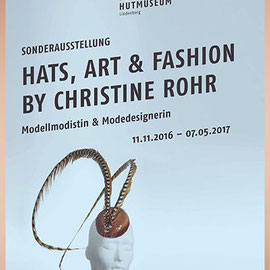 Hats, Art & Fashion by Christine Rohr