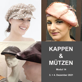 Modul 14 - KAPPEN & MÜTZEN - Christine Rohr Academy of Millinery and Textile Arts