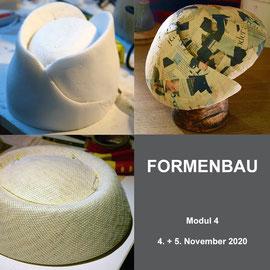 4. Modul - FORMENBAU - Christine Rohr Academy of Millinery and Textile Arts