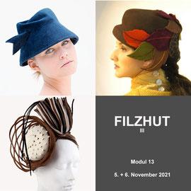 Modul 13 - FILZHUT III - Christine Rohr Academy of Millinery and Textile Arts