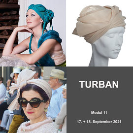 Modul 11 - TURBAN- Christine Rohr Academy of Millinery and Textile Arts