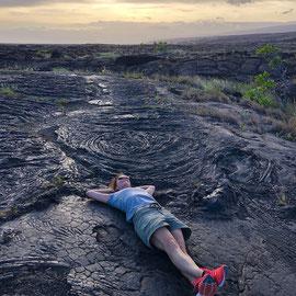"""Immer liegt was rum"" – auf Hawaii, Big Island im Pu'u Loa Petroglyphs Nationalpark (Okt 2019): Lost in Vulcanoland!"