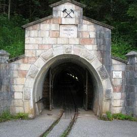 L'entrada a les mines de sal