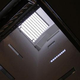 Das Fenster über dem Lichthof