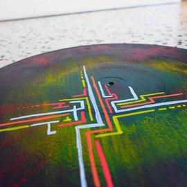 vinyle street art abstract  2