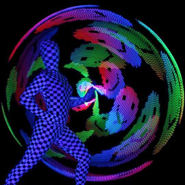 Lasershow in Darmstadt - Fantômes de Flammes