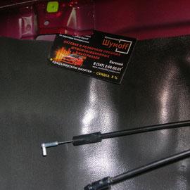 Шумоизоляция дверей Lancer 10 (lancer X)