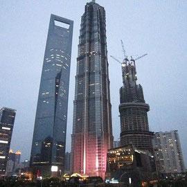 浦東 高層ビル街