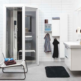 TYLOスチームサウナ | バスルームにシャワー&スチームサウナルームを設置