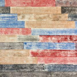 Haussegen, Laminatdrucke - Tapete auf Pavillon, 2016