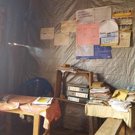 Bureau de l'état civil dans une banlieue de Bukavu, RDC