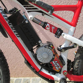 kit electric for mountain bike