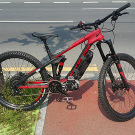 electric engine for downhill
