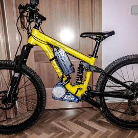 electric mountain bike kid