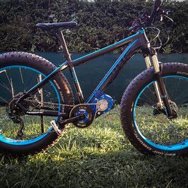 vtt fat bike moteur electrique