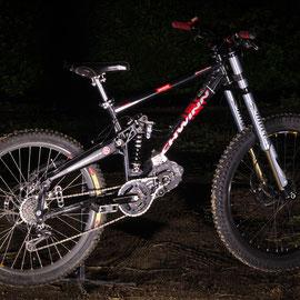 down hill electrique bike