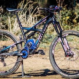 specialized enduro bike with engine