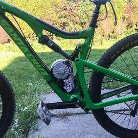 v10 electric bike