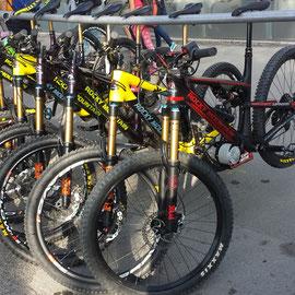 EWS electric bicycle , enduro world series e-bike
