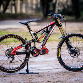 dh bike with motor