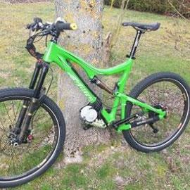 mountain bike with electric motor