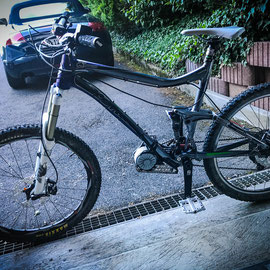 electric motor kona bike