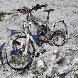 mtb electric bike snow
