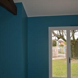 Ratissage murs peinture lisse