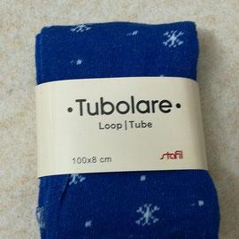 Tubolare a fiocchi di neve blu