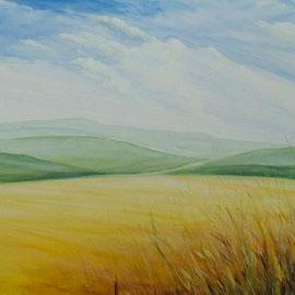 Sommer, Acryl, 90x120, 2012