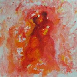 Paar, Acryl, 30x30, 2010