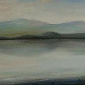 Chiemsee, Acryl, 30x90, 2012