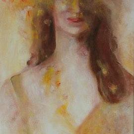 Frau, Acryl, 50x60, 2010