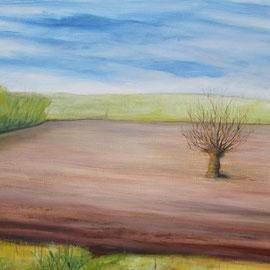 Ackerbaum, Acryl, 70x100, 2010