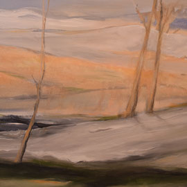 Weites Land, Acryl, 70x80, 2021