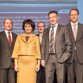 Peter Keller, Niklaus Bleiker, Doris Leuthard, Robert Küng, Hans Wicki, Renato Fasciati
