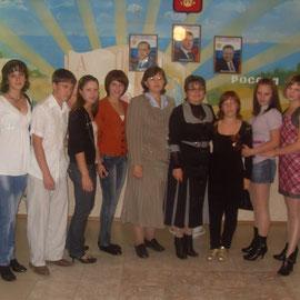 Вечер встречи с выпускниками. 2009 г.