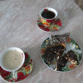 Утренний кофе для двоих.