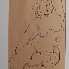 Zeichnung Paris 2
