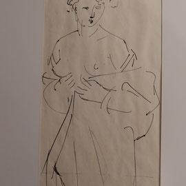 Zeichnung Paris 3