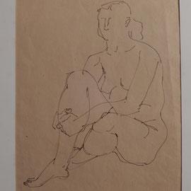 Zeichnung Paris 1