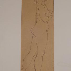Zeichnung Paris 8