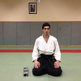 Remise ceinture noire shodan Aikidojo Dijon