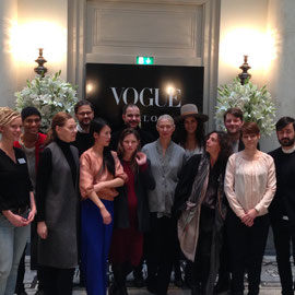 GOLPIRA at VOGUE SALON on January 21, 2015 in Berlin during Berlin Fashion Week
