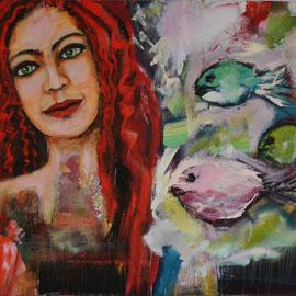 Die Träumerin 140 x 100