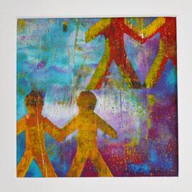 Together III -kleine Papierarbeit-