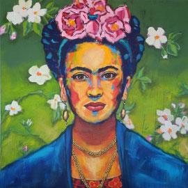 Frida Kahlo I 100 x 100