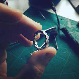 MODULARIA ring in the making